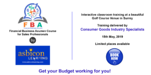 Financial Acumen for CPG Sales Professionals-Highly Rated Classroom Course in Surrey