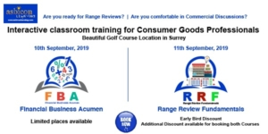 Range Review & Financial Acumen for CPG Professionals- Classroom Courses in Surrey
